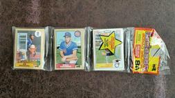 1987 Topps Baseball Rack Pack - Bo Jackson RC front - Kansa