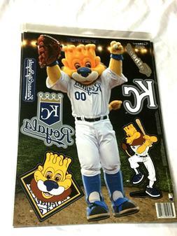 Fathead 17 Inch Sticker Wall Decal Set Mascot Kansas City Ro