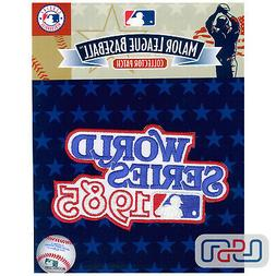1985 World Series Kansas City Royals Official Game MLB Sleev