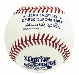 1985 World Series Rawlings MLB Official Game Baseball Kansas
