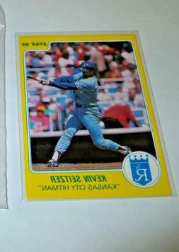 1988 Star Company Kevin Seitzer Kansas City Hitman YELLOW Pr