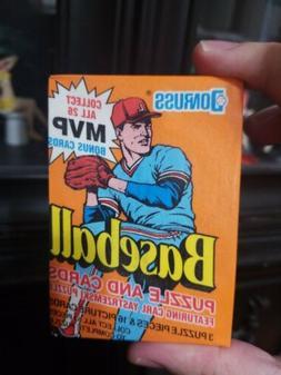 1990 Donruss Baseball Sealed Wax PACKS Star Cards