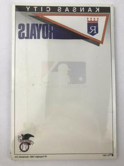 1991 Kansas City Royals MLB Sportpads Note Pad Stationary 50