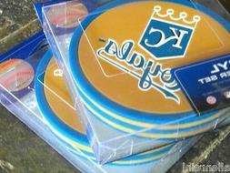 2 - 4 Packs Vinyl Drink Coasters - Kansas City Royals