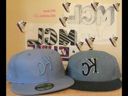 2 New Era Baseball caps Kansas City Royals Blue snapback and
