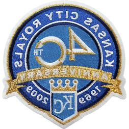 2009 Kansas City Royals 40th Anniversary Sleeve Jersey MLB L