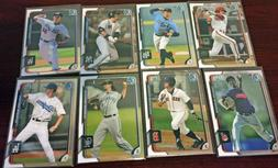 2015 Bowman Chrome Draft  Card Lots Aaron Judge, Andrew Beni