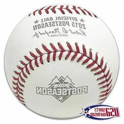 2015 Postseason Official MLB Rawlings Baseball Kansas City R