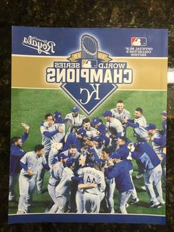 2015 World Series Champions Kansas City Royals - Official ML