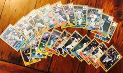 2017 Topps '87 TOPPS SILVER PACK CHROME Promos - Complete Yo