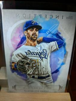 2019 TOPPS INCEPTION WHIT MERRIFIELD KANSAS CITY ROYALS #52
