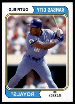 2020 Archives Base #144 Bo Jackson - Kansas City Royals