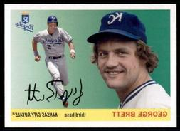 2020 Archives Base #30 George Brett - Kansas City Royals