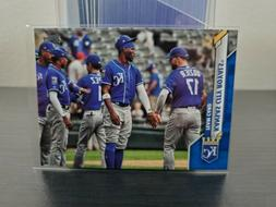 2020 topps complete set kansas city royals
