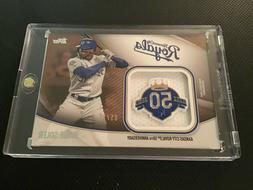 2020 Topps Series 2 Jumbo Sleeve Patch #JSES-JS GOLD Jorge S