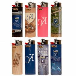 8 x Bic Lighters - Kansas City Royals Baseball