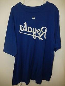 "9601-17 MENS KANSAS CITY ROYALS ""Crow 43"" Baseball Jersey Sh"