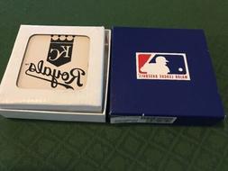 Acrylic Finish Coasters Set Of 4 MLB Kansas City Royals With
