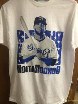 Alex Gordon Kansas City Royals Gordonation T Shirt Size M/XL