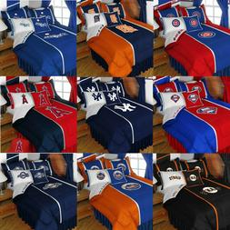 MLB Baseball Comforter Set - Sports Team Logo Comforter Pill