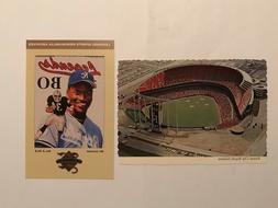 Bo Jackson & Royals Stadium Kansas city Missouri Souvenir Po