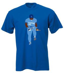 "Bo Jackson Kansas City Royals Oakland Raiders ""Broken Bat"" T"
