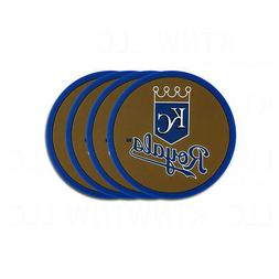 Brand New 4pcs Set MLB Kansas City Royals Heavy Duty Rubber