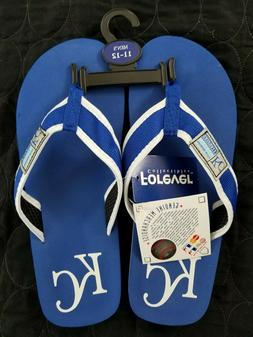 Brand New Kansas City Royals Flip Flops Sandals Men's Size 1