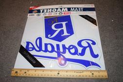 BRAND NEW SEALED MLB Kansas City Royals Large Car Magnet