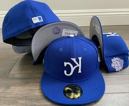 New Era Cap 59FIFTY Kansas City Royals Hat Fitted 5950 World