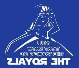 Darth Vader Kansas City Royals shirt Star Wars t-shirt baseb