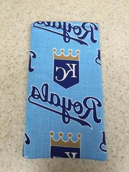 Eyeglass / Sunglass Soft Fabric Case - Kansas City Royals on