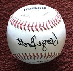 GEORGE BRETT  ⚾️⚾️⚾️ Kansas City Royals Wilson R
