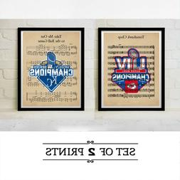 Kansas City Chiefs Royals World Series Super Bowl Champs Art