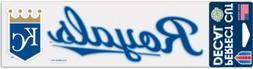 KANSAS CITY KC ROYALS BUMPER STRIP STICKER PERFECT CUT DECAL