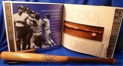 Kansas City KC Royals George Brett Mini Pine Tar Bat 5/4/12