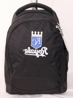 Kansas City KC Royals NEW Mojo MLB Rolling Laptop Bag Luggag