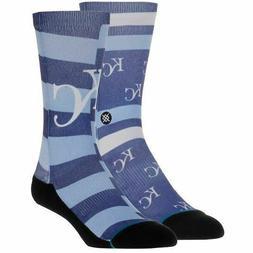 Stance Kansas City KC Royals Splatter Socks Medium 6-8.5 M55