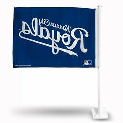 Kansas City Royals 11x14 Window Mount 2-Sided Car Flag