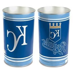 "KANSAS CITY ROYALS 15""X10.5"" TRASH CAN WASTEBASKET BRAND NEW"