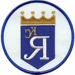 Kansas City Royals 1970s OLD LOGO Sleeve Round Patch Jersey