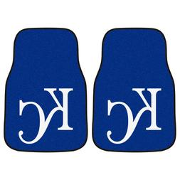Kansas City Royals 2-Piece Carpet Car Auto Floor Mats