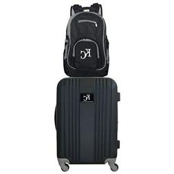 Kansas City Royals 2-Piece Luggage & Backpack Set - Black