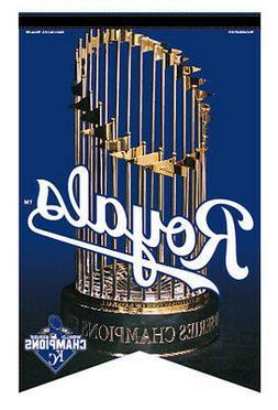 Kansas City Royals 2015 WORLD SERIES CHAMPIONS Premium Felt