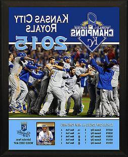 KANSAS CITY ROYALS 2015 World Series Champions Commemorative