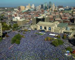 Kansas City Royals 2015 World Series Parade Photo Picture Pr