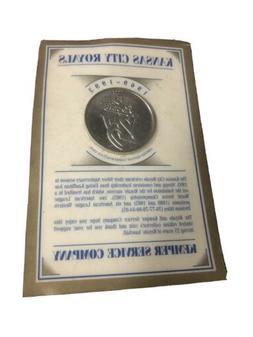 Kansas City Royals 25th Anniversary Coin