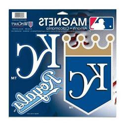 WinCraft Kansas City Royals 3-Pack Car Magnets