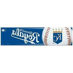 Kansas City Royals 3 x 12 Inch Bumper Sticker  MLB Strip Car