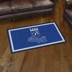 Kansas City Royals 3' X 5' Decorative Ultra Plush Carpet Are